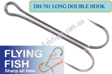 Двойник Flying Fish Long Double Hook 1/0 (Shank BN)
