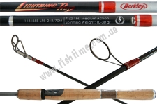Удилище Berkley LRS- 70M Lightning Rod Spin 2.10, 10-30 гр