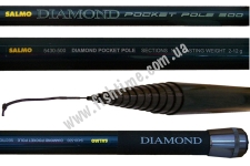 Удилище Salmo DIAMOND POCKET POLE, 5430-500
