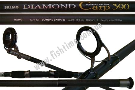 карповое удилище salmo diamond carp 360