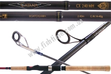 Спиннинг SHIMANO, CATANA SPINNING CX 24 MH 2PCS, SCATCX24MH